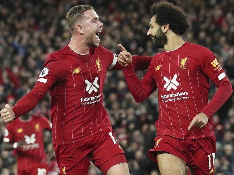 Liverpool beats Spurs to move six point clear at the of the Premier League Table
