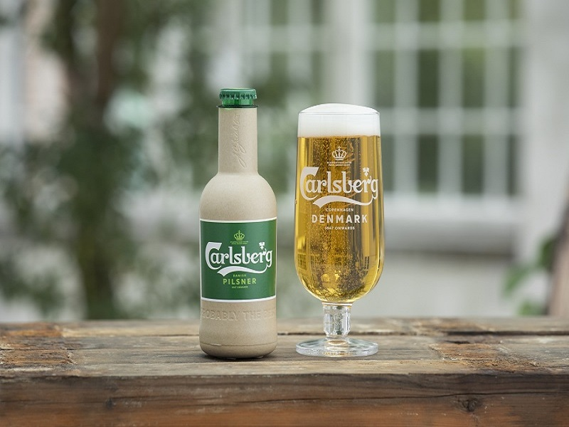 Carlsberg launches 'world's first' paper beer bottle