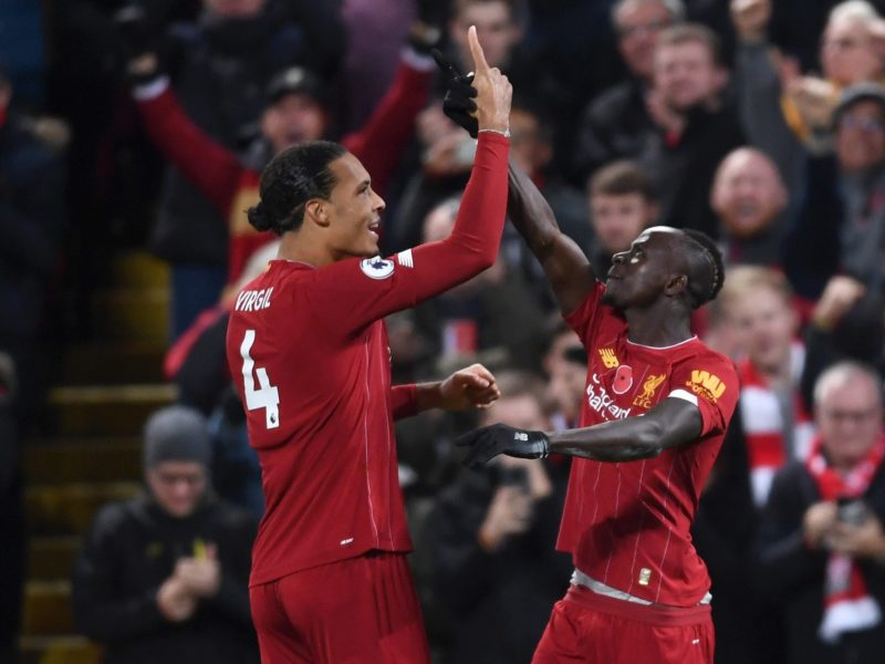 Liverpool Beat Man City to go eight point clear