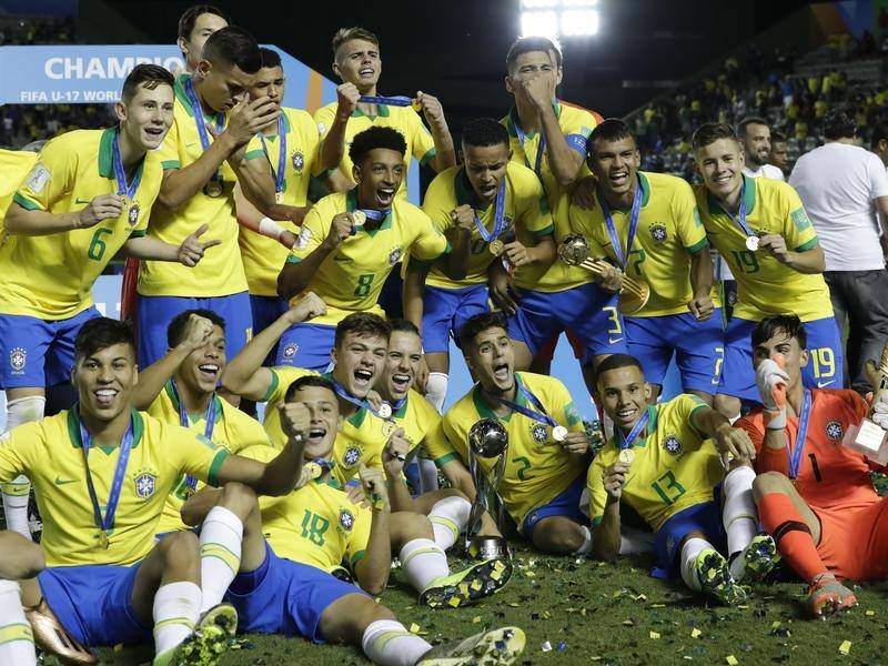 Brazil Wins The U-17 FIFA World Cup