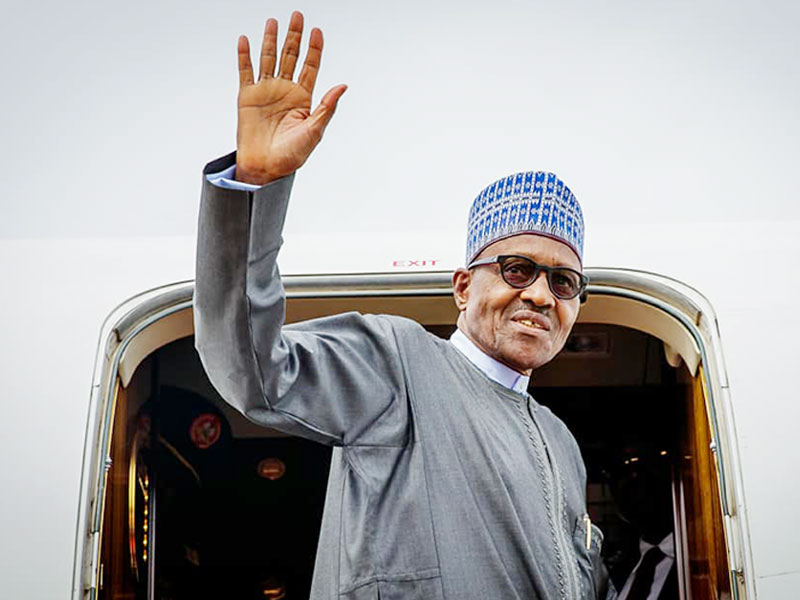 Buhari leaves Nigeria For Egypt