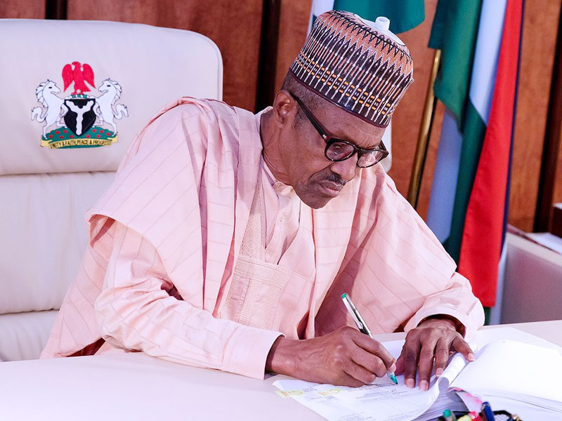 Buhari Signs 2020 Budget Today