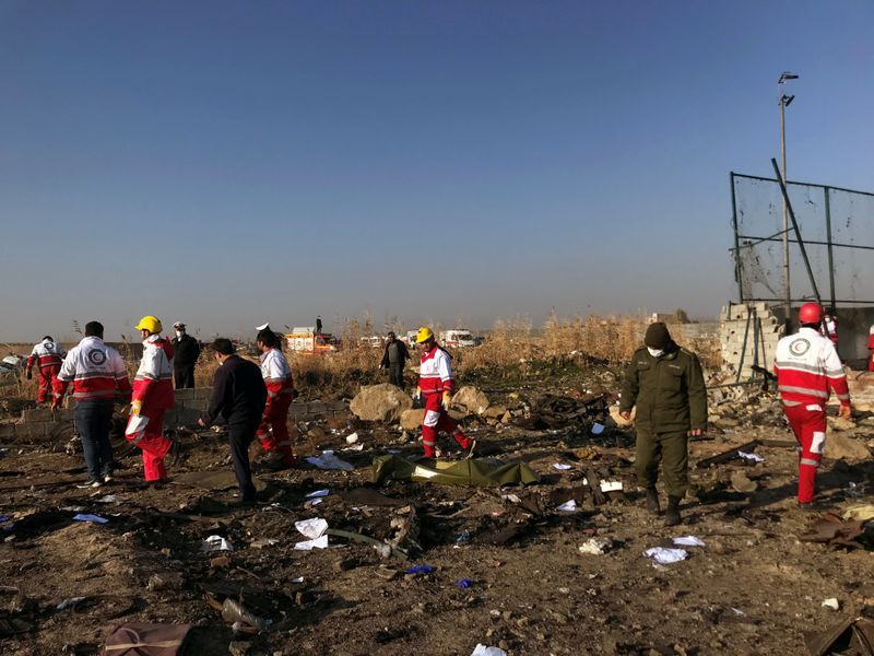 Ukrainian Airliner Crashes Near Tehran Shortly After Takeoff, 180 People Suspected Dead