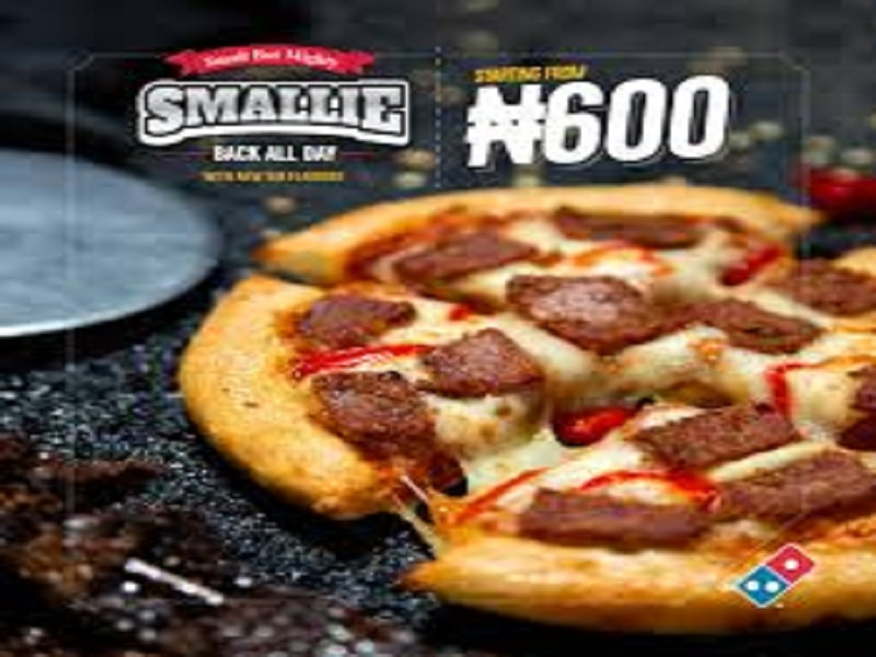 Domino's Smallie Pizza is back