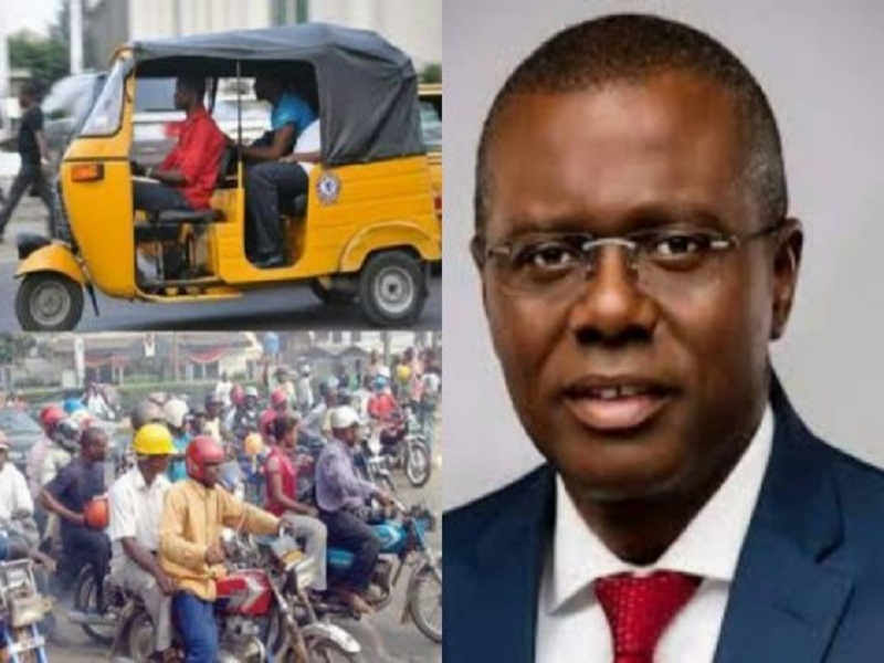 Lagos State Governor Bans on Okada, Keke NAPEP