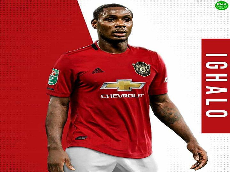 Odion Ighalo: Manchester United confirm striker's shirt number