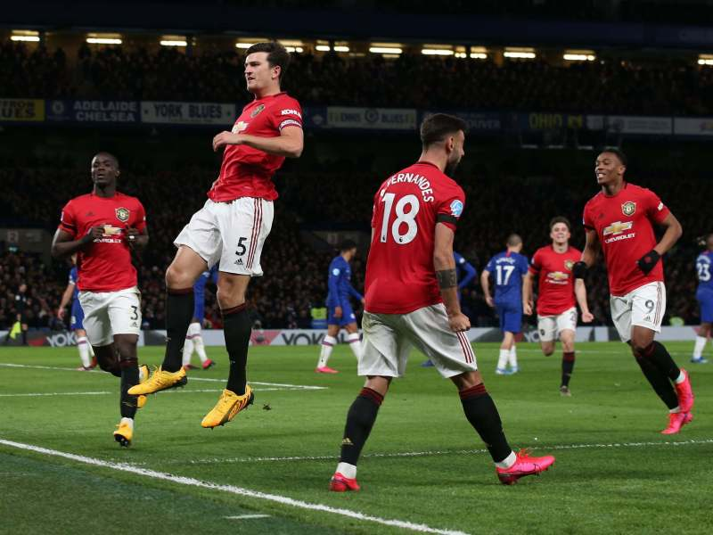Manchester United Beat Chelsea at Stamford Bridge
