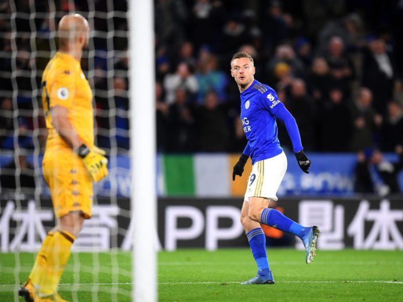 Leicester City 4-0 Aston Villa: Jamie Vardy scores twice