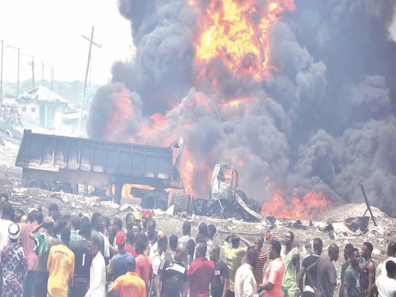 Explosion hits Lagos, Kills At least 16 people