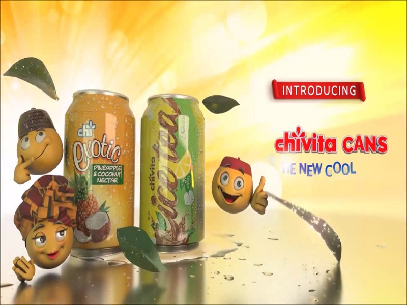 CHI Limited Unveils Chi Exotic and Chivita Ice Tea in Cans