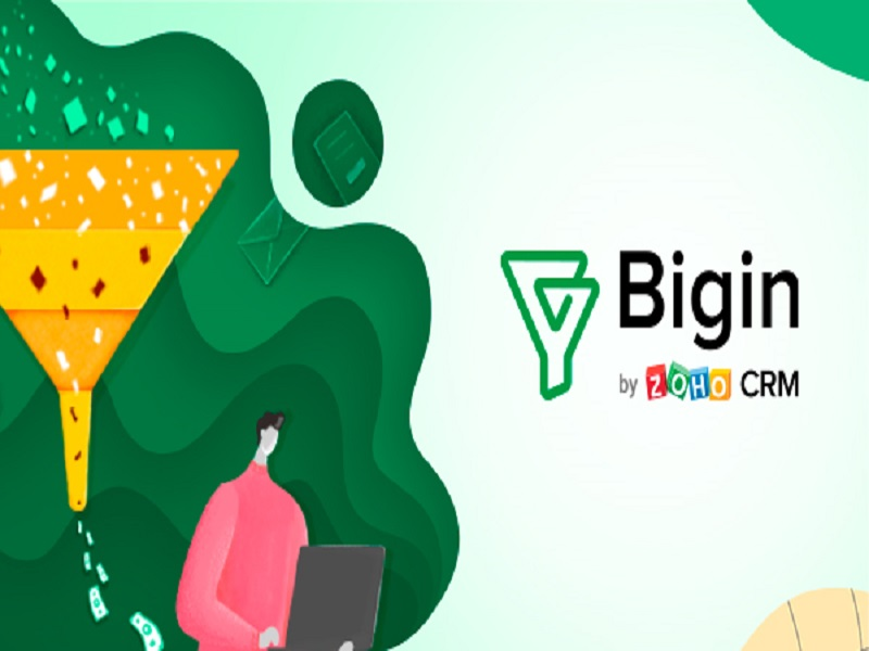 Zoho launches Bigin, a CRM solution tailored for small businesses