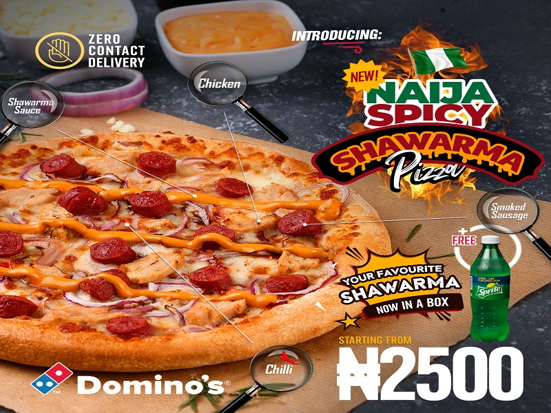 Domino's Pizza launches new flavour, Spicy Shawarma pizza