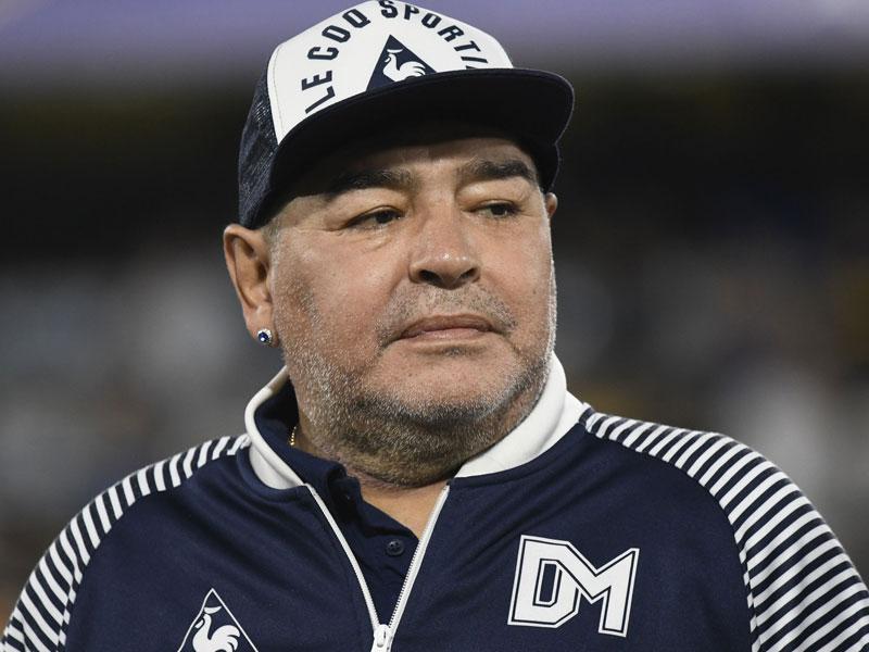 Diego Maradona To Undergo Surgery For Blood Clot In Brain