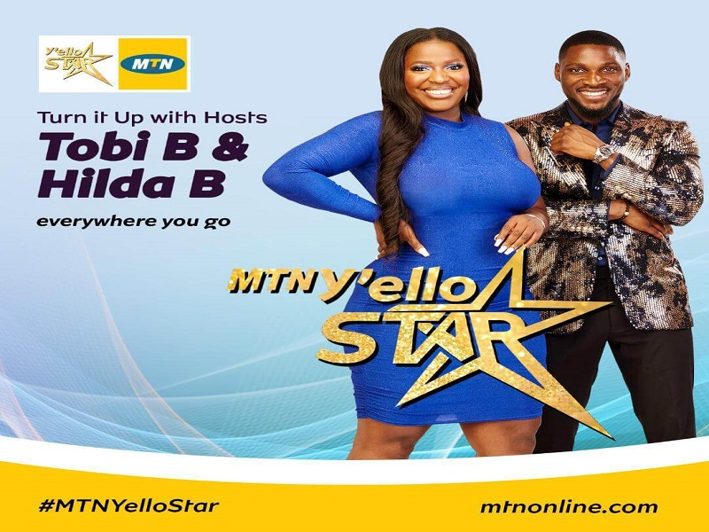 Tobi Bakre and Hilda Baci Set to Host MTN Y'ello Star
