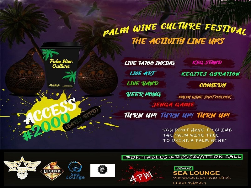 Palm wine Culture Festival Event