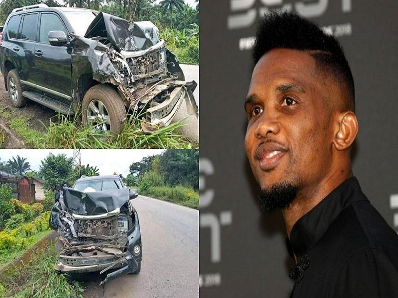 Samuel Eto'o Hospitalised After A Car Accident