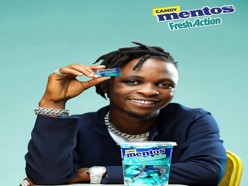 BBNaija 2020 Winner, Laycon Becomes The New Face Of Mentos Nigeria