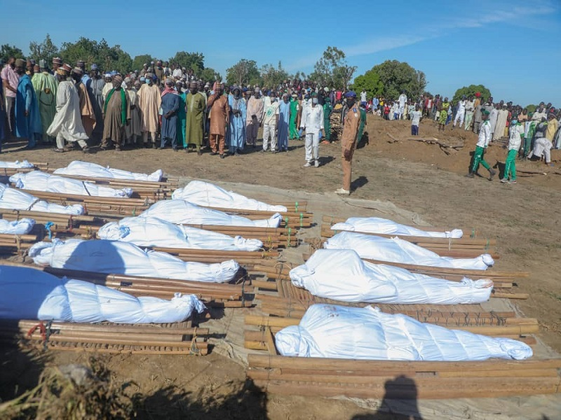 43 farmers killed by Boko Haram didn't have clearance to farm —Buhari's aide