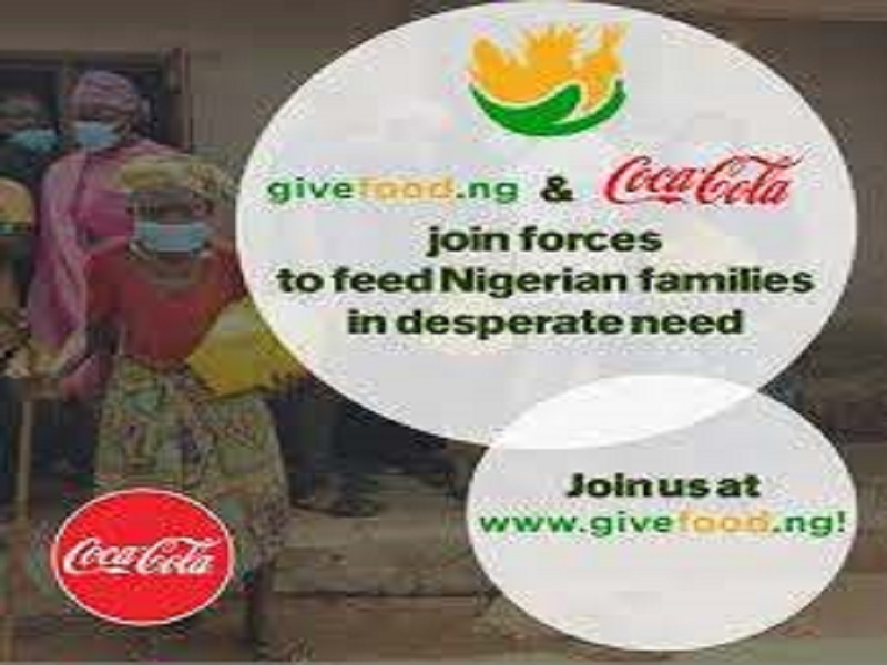 Coca-Cola Partners GiveFood.ng