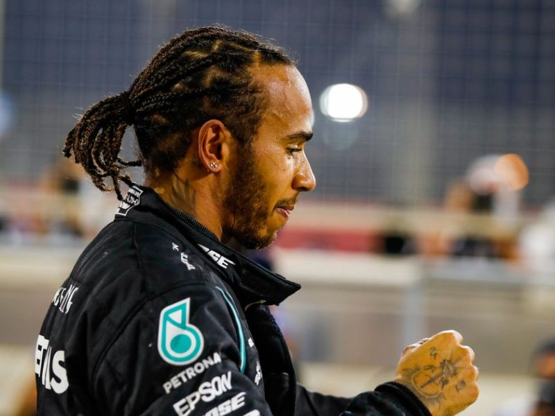 Hamilton wins BBC Sport Personality of the year