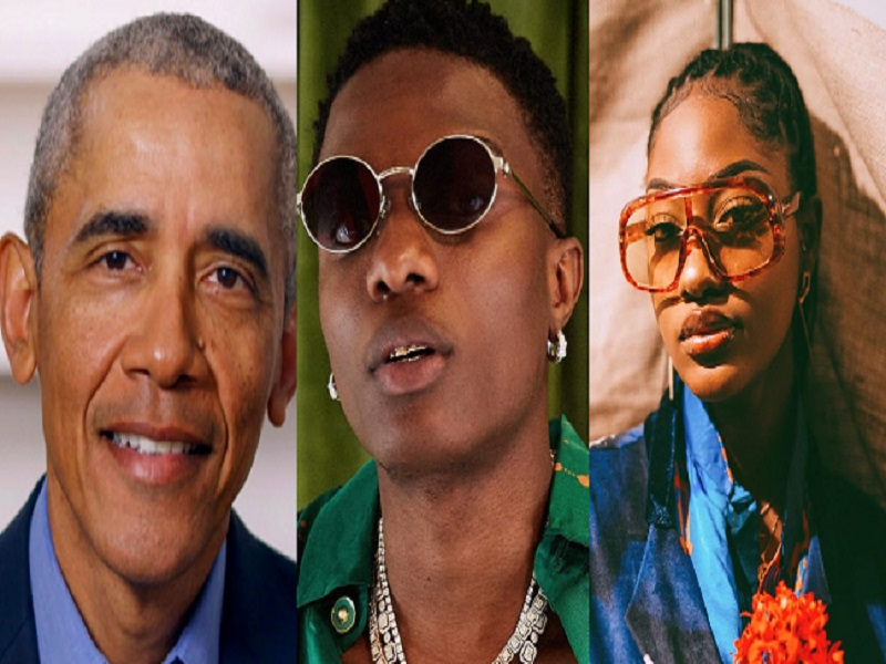 Wizkid, Tems song among Obama's favourite 2020 music
