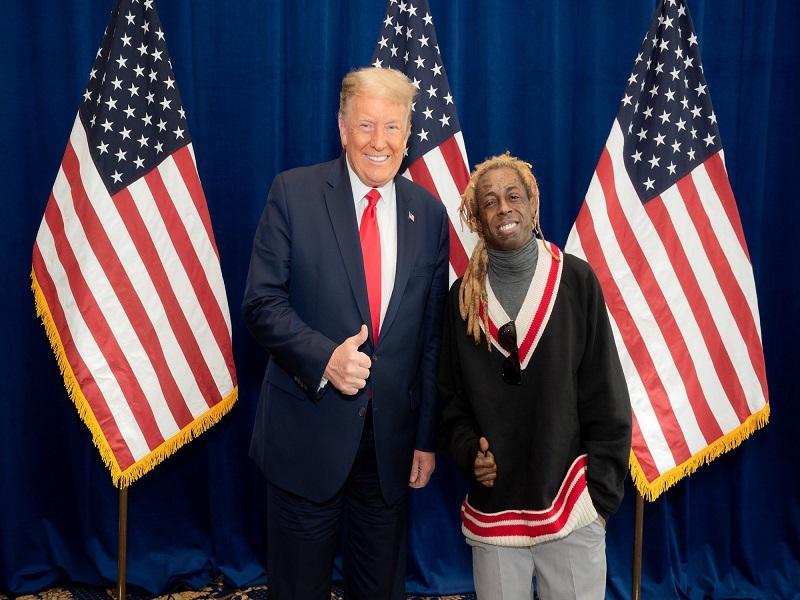 Trump pardons American rappers Lil Wayne