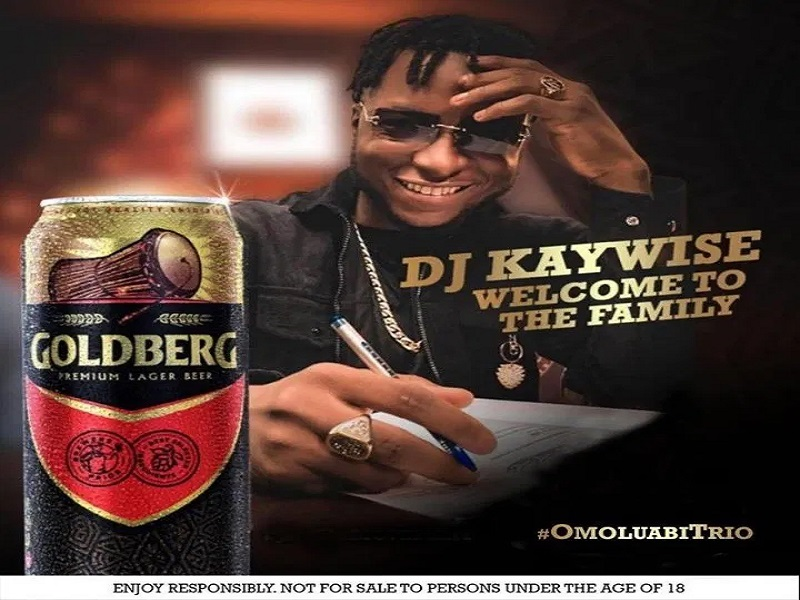 DJ Kaywise Gets Goldberg Lager Beer Ambassadorial Deal