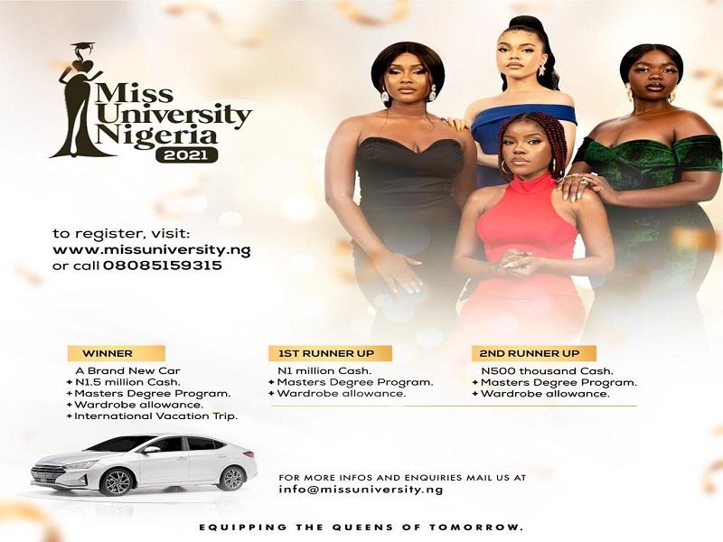 Miss University Nigeria 2021