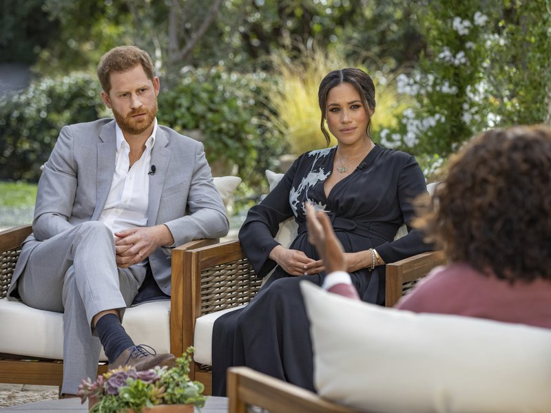 Meghan accuses British royals of racism, says they pushed her to brink of suicide