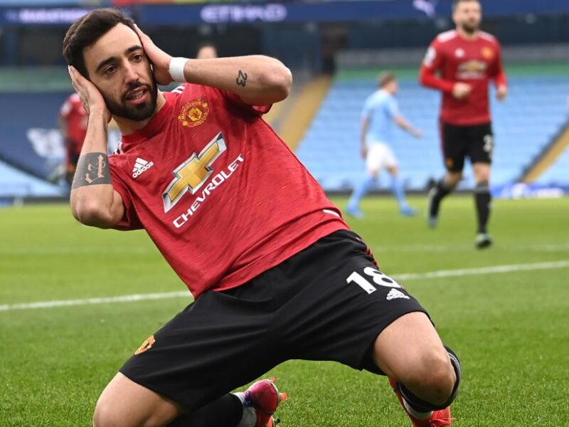 Man United ends Man City's 21 game winning streak