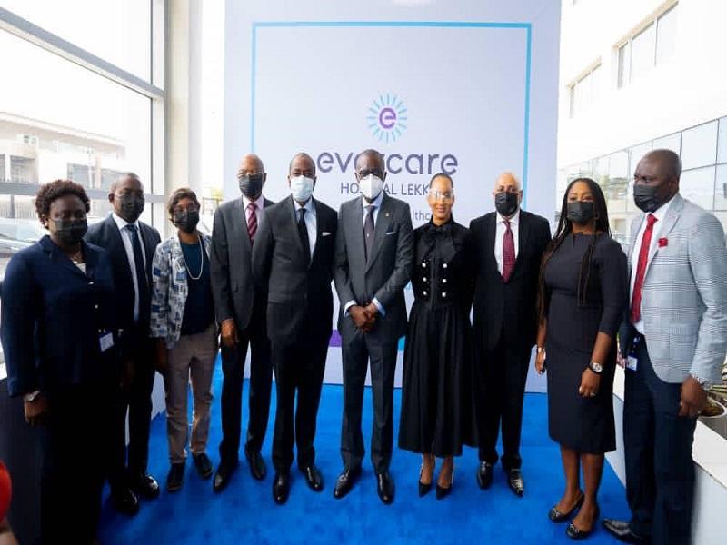 Lagos State Governor, Sanwo-Olu Unveils Evercare Hospital
