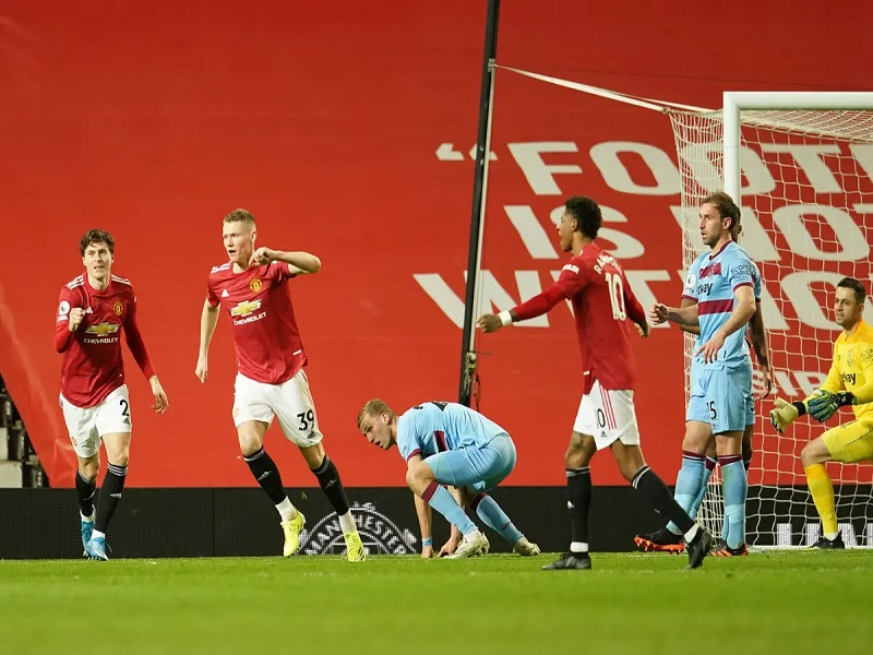 Manchester United Beats West Ham At Old Trafford