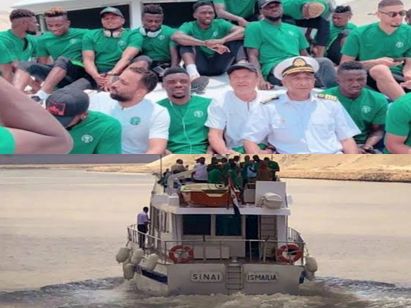 Super Eagles Travel To Benin By Boat For AFCON Qualifier