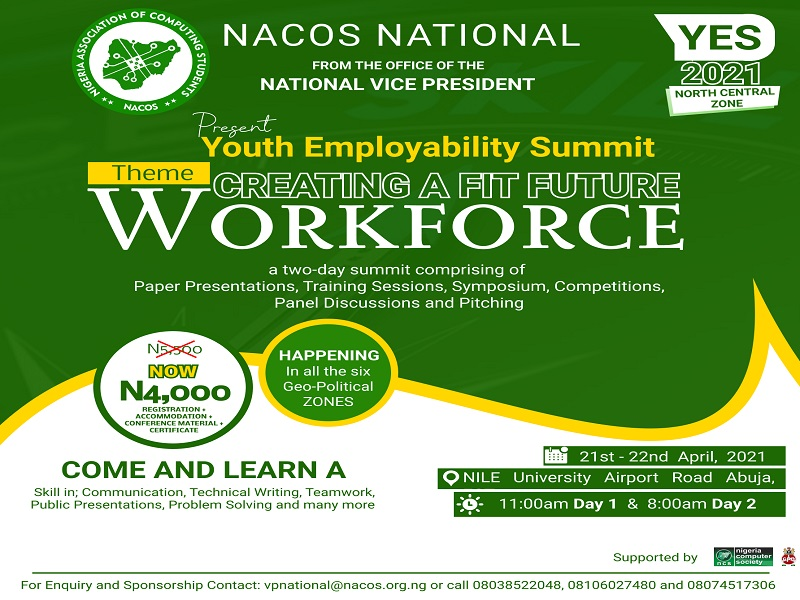 """Youth Employability Summit. Theme – """"Creating a Fit Future Workforce"""""""
