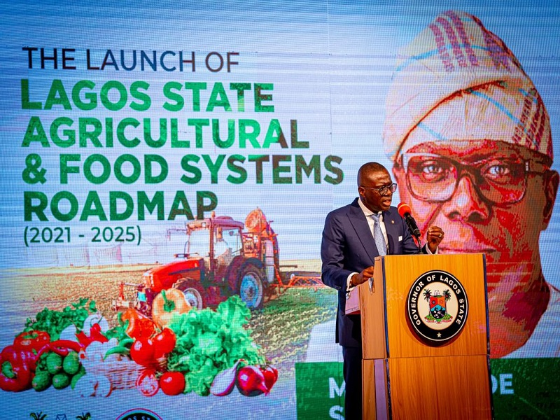 Sanwo-Olu Unveils Five-Year Food Sufficiency Road Map For Lagos