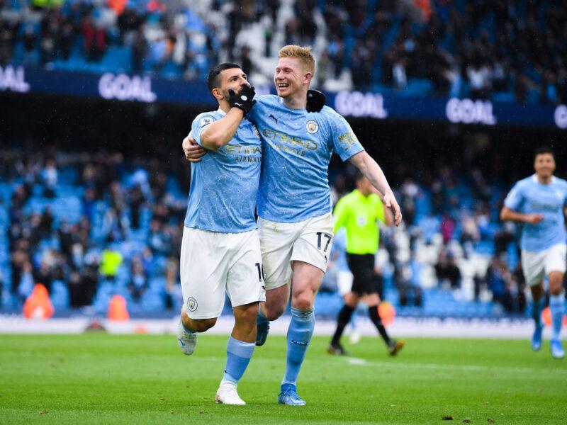 Sergio Aguero breaks Rooney's goal record