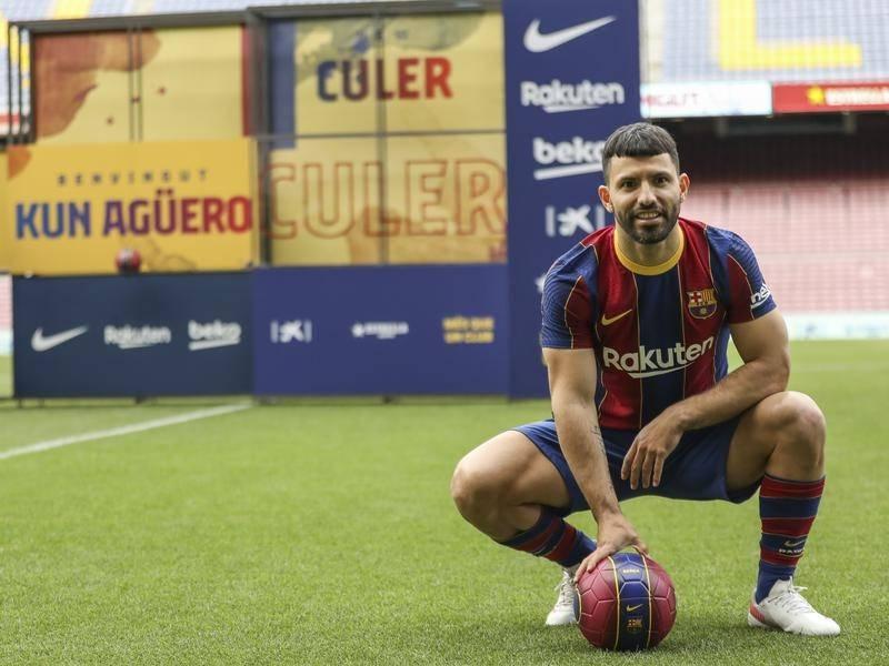 Sergio Kun Aguero Joins Barcelona