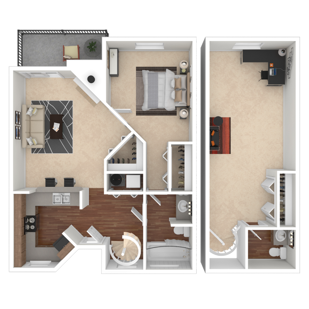 1 Bedroom 1140 sq.ft  apartment in Westminster, Colorado