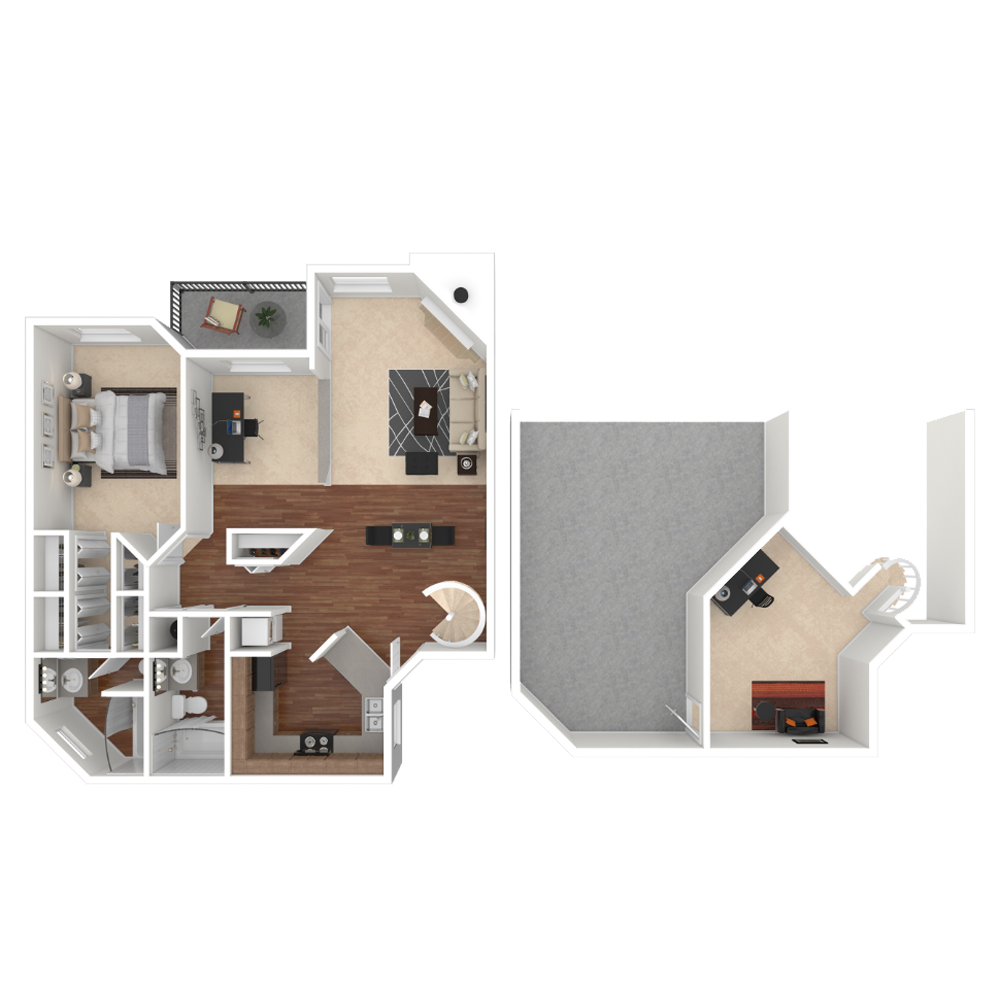 1 Bedroom 1076 sq.ft  apartment in Westminster, Colorado