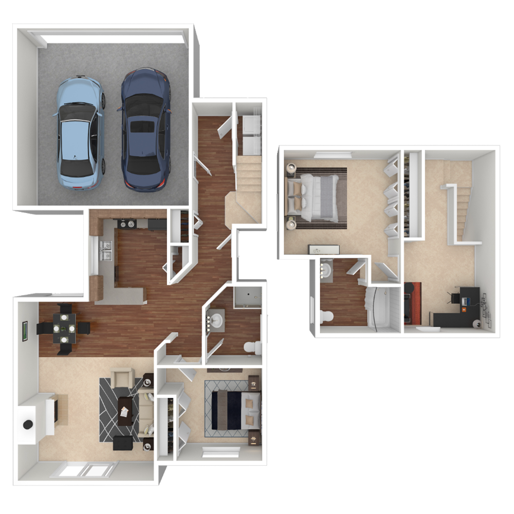 2 Bedroom 1214 sq.ft  house in Westminster, Colorado
