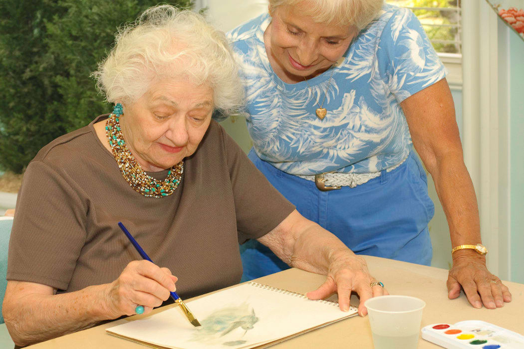 Life enrichment activities at  FountainBrook Assisted Living & Memory Support