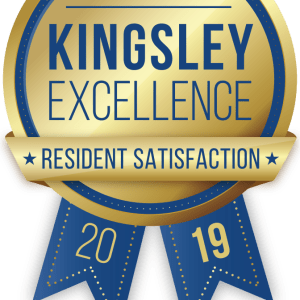 Loring Park Apartments in Minneapolis, Minnesota received a Kingsley Excellence Residents Satisfaction 2019 award