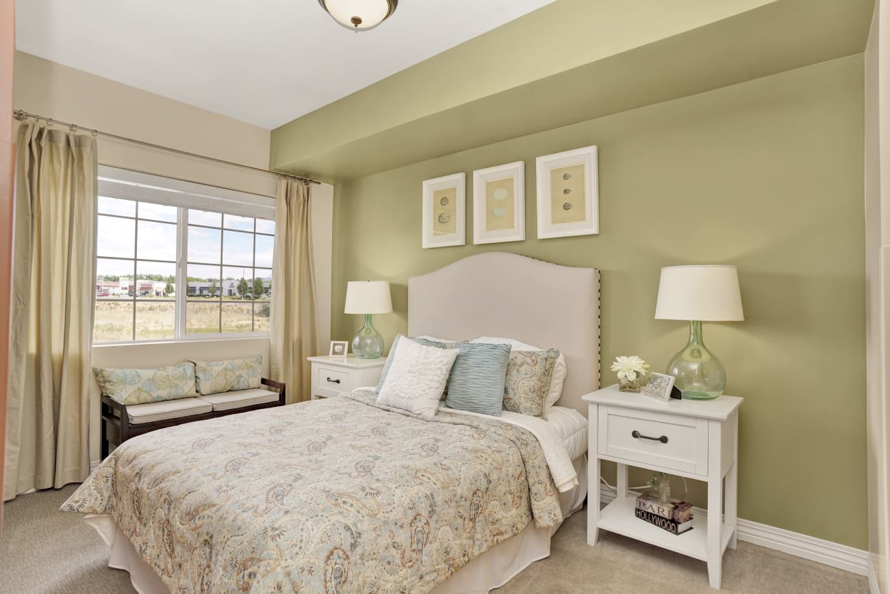 Bedroom at Chancellor Gardens at Clearfield in Clearfield, Utah