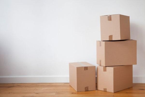 Storage boxes for sale at Chesapeake Mini Storage