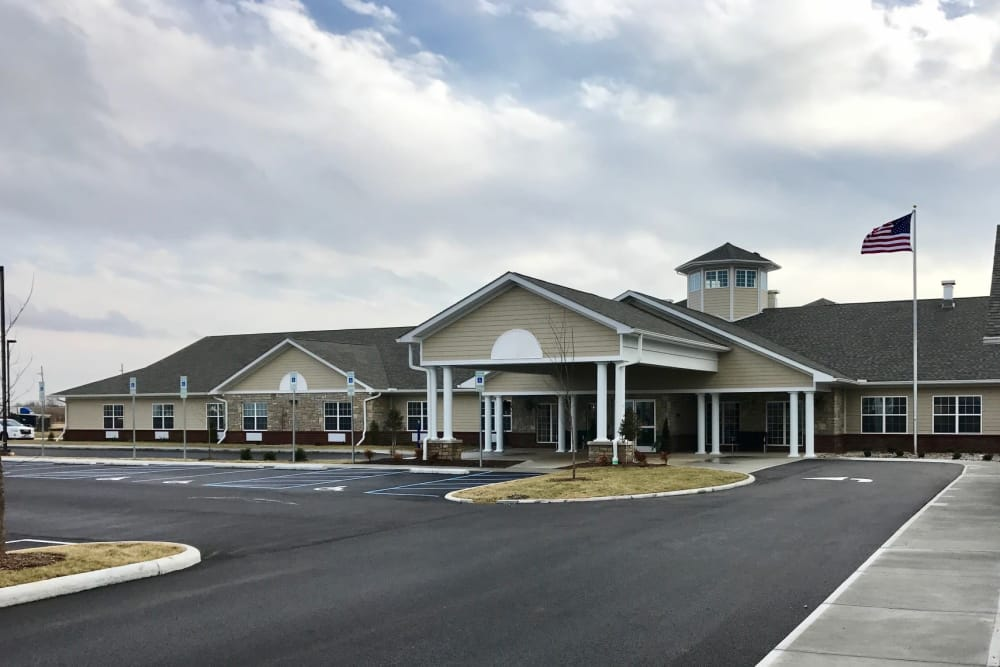 Front Entrance at Valley View Health Campus in Fremont, Ohio