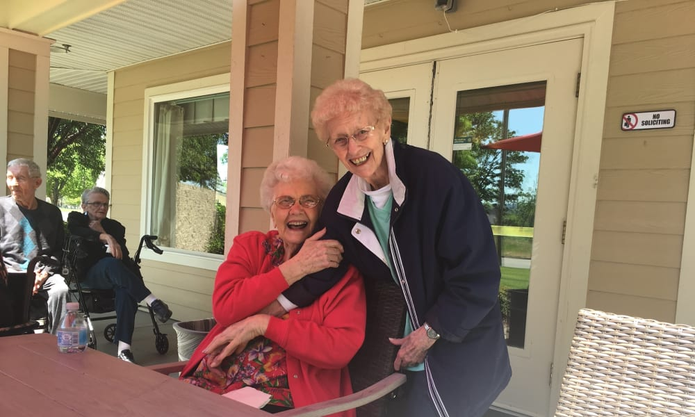 Seniors at Woodside Senior Living