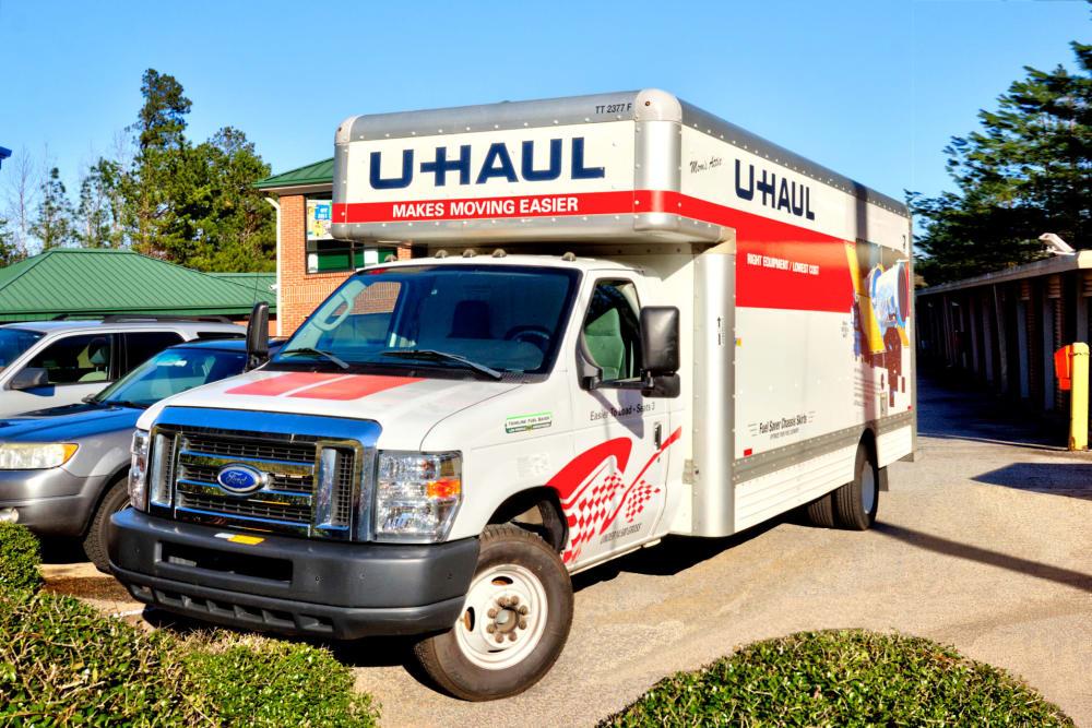 Moving truck at Prime Storage in Dallas, Georgia