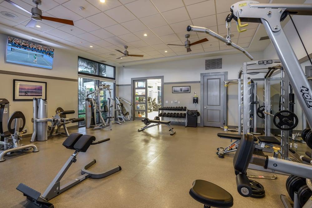 Gym at Spyglass