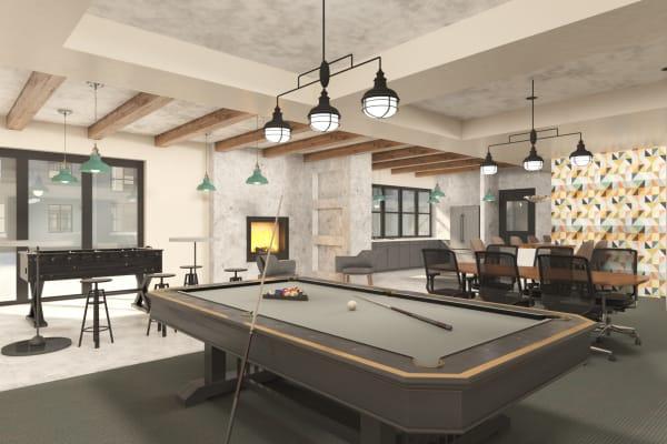 Billiards at 511 Meeting in Charleston, South Carolina