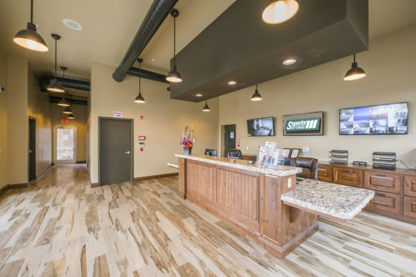 Inside the office at Superior Boat, RV & Commercial Self Storage in Folsom, California